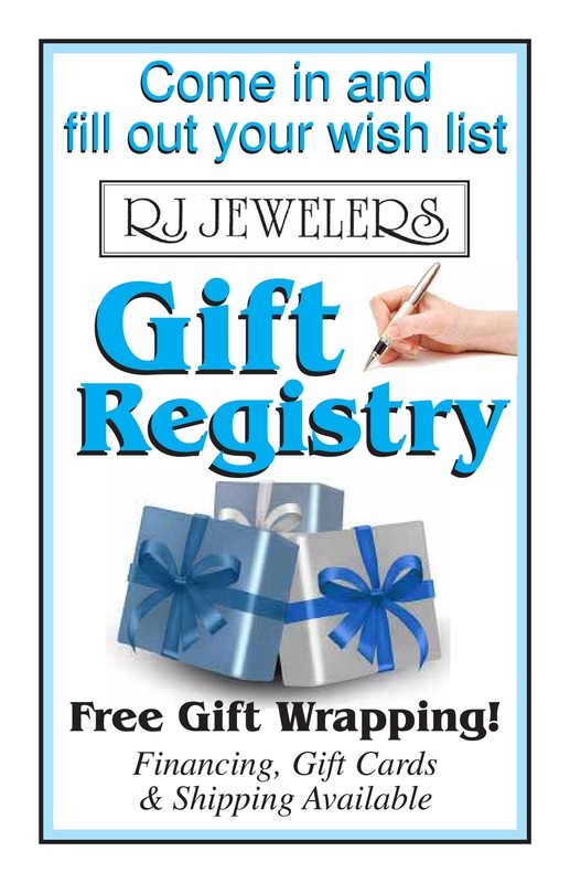 Rjs gift registry get engaged with rj jewelers negle Image collections